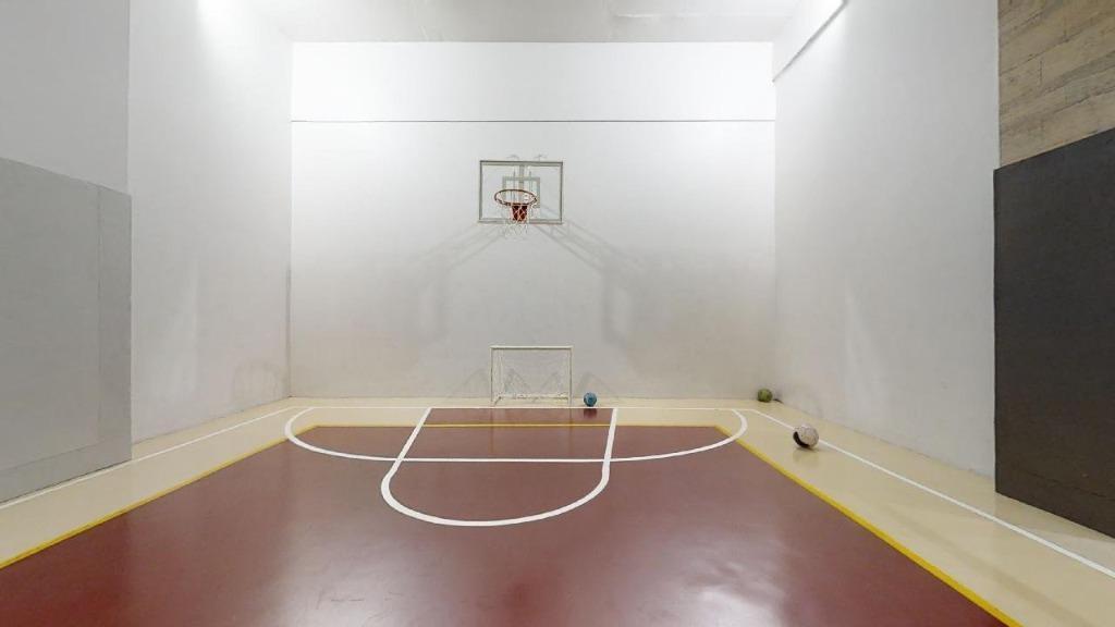Área Fitness - Quadra poliesportiva