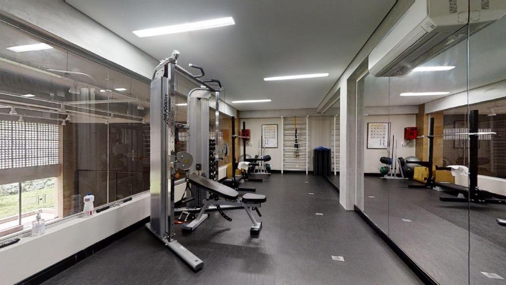 Área Fitness - Academia