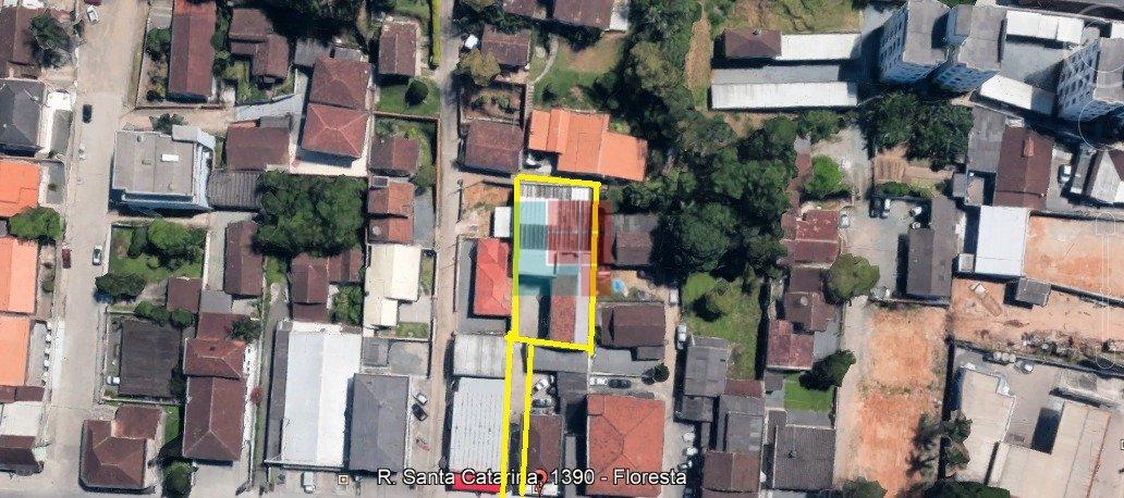 Pavilhão/galpão/depósito à venda  no Floresta - Joinville, SC. Imóveis