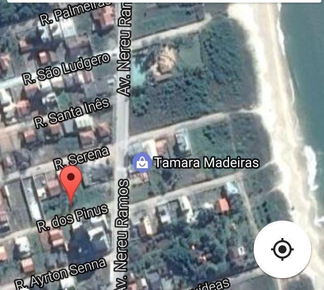 Localização do Apartamento em Piçarras