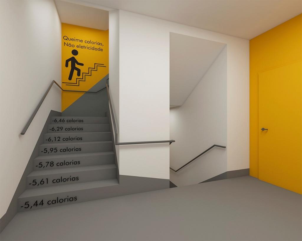Escada Contagem de Caloria