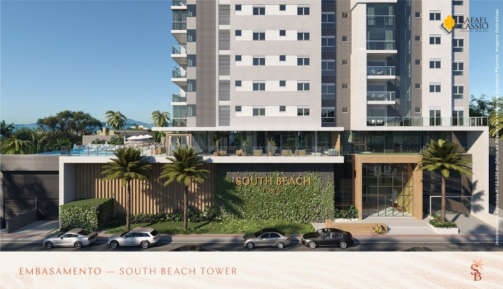 Fachada - South Beach em Piçarras