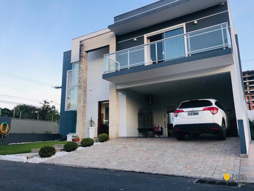 Fachada casa em Condomínio na cidade de Piçarras
