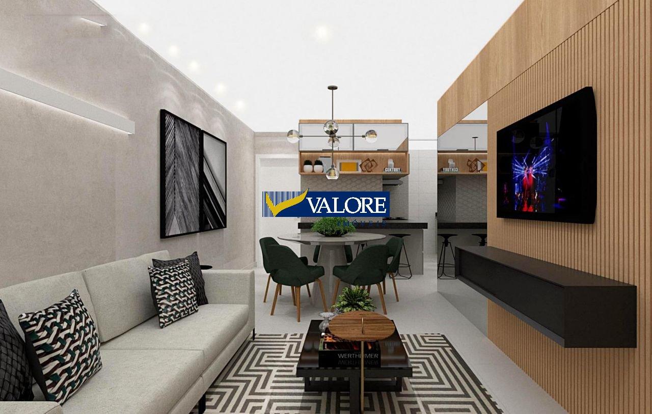 Apartamento de 63,28m²,  à venda