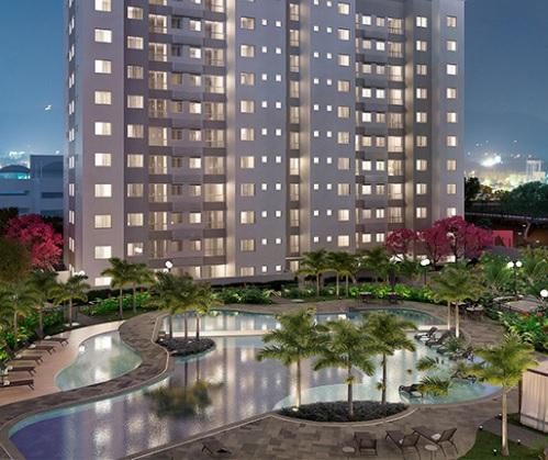 Apartamento de 54,96m²,  à venda