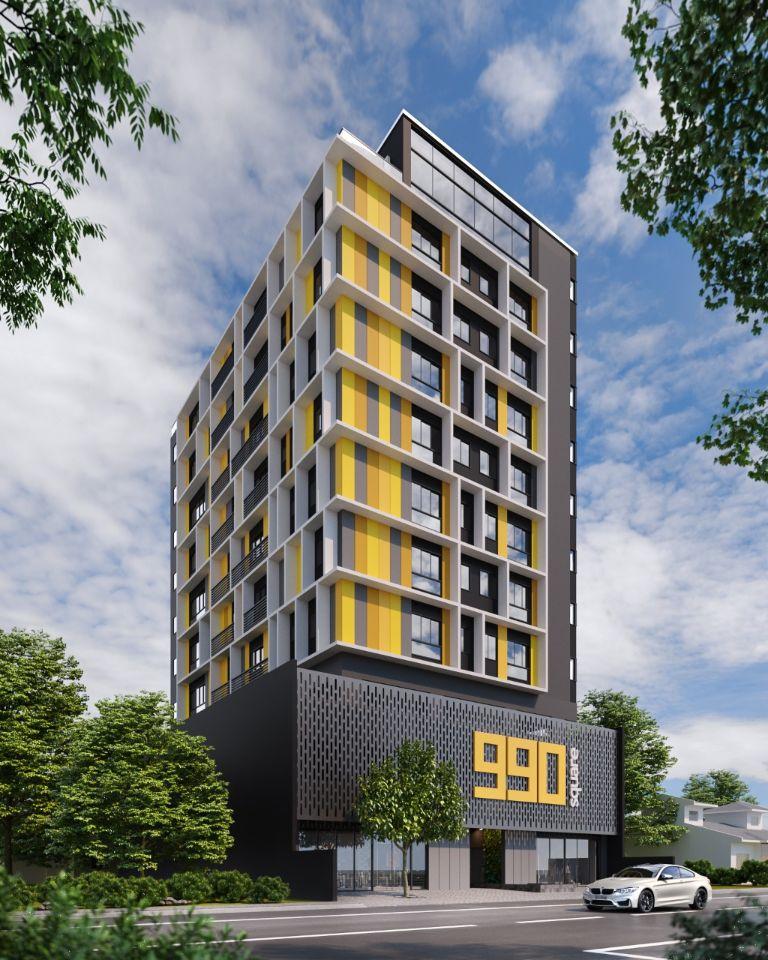 Apartamento de 34,77m²,  à venda