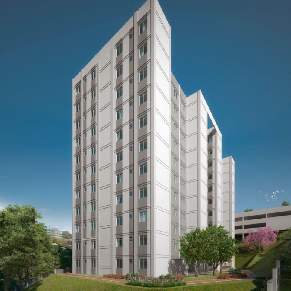 Apartamento de 46,95m²,  à venda