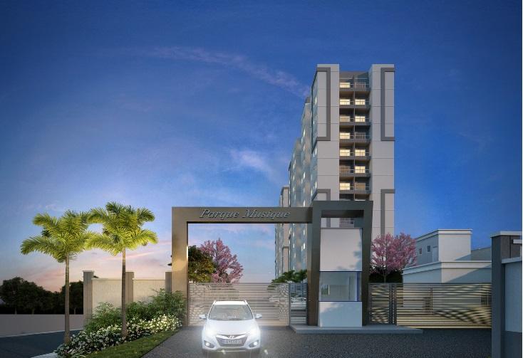 Apartamento de 46,62m²,  à venda
