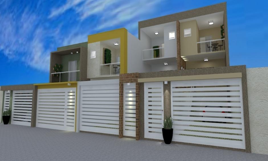 Casa geminada de 133,17m²,  à venda