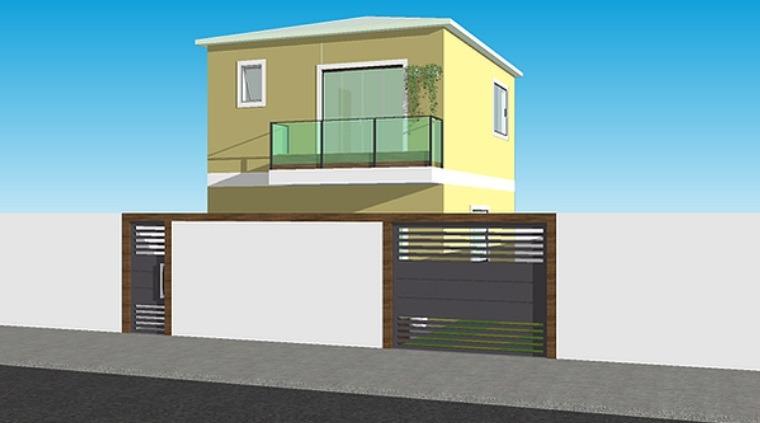 Casa Duplex de 124,36m²,  à venda