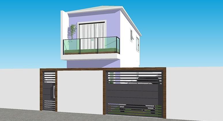 Casa Duplex de 119,03m²,  à venda