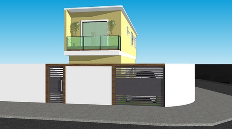 Casa Duplex de 158,29m²,  à venda