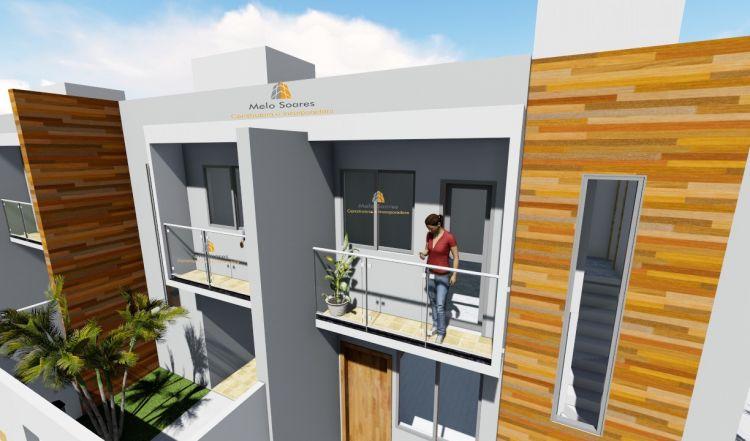 Casa Duplex de 110,00m²,  à venda