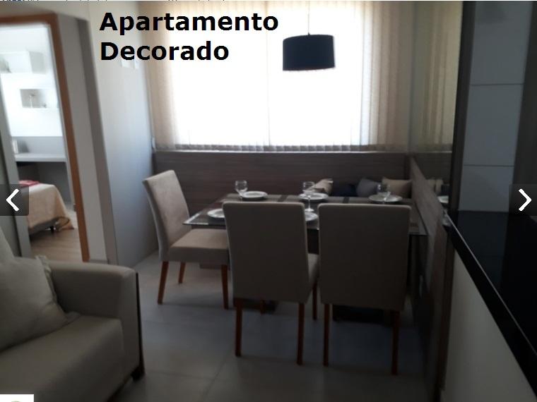 Apartamento de 48,00m²,  à venda