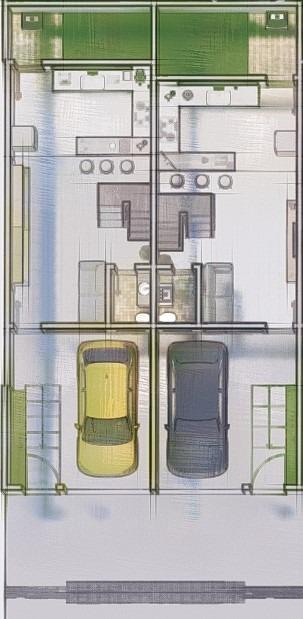 Casa geminada de 70,00m²,  à venda