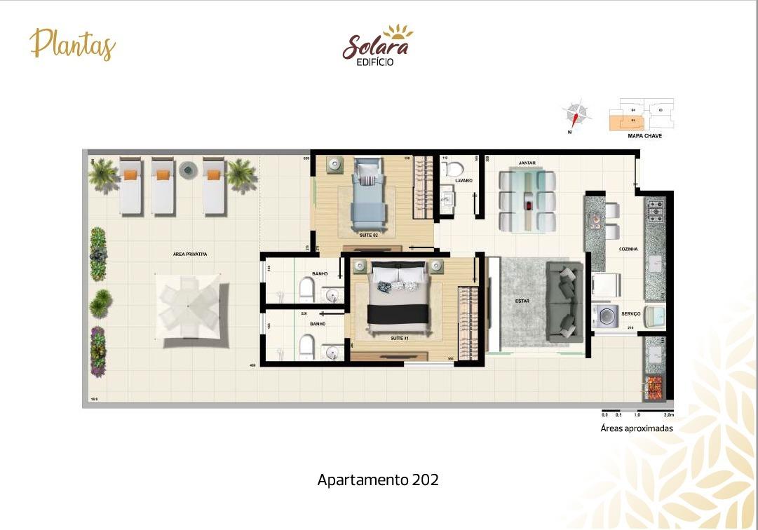Área privativa de 116,00m²,  à venda