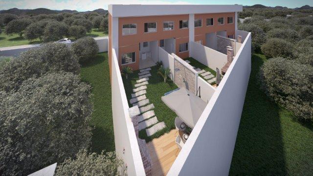 Casa geminada de 152,00m²,  à venda