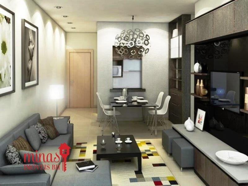 Apartamento de 47,68m²,  à venda