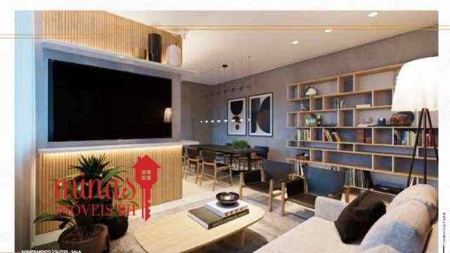 Apartamento de 81,61m²,  à venda