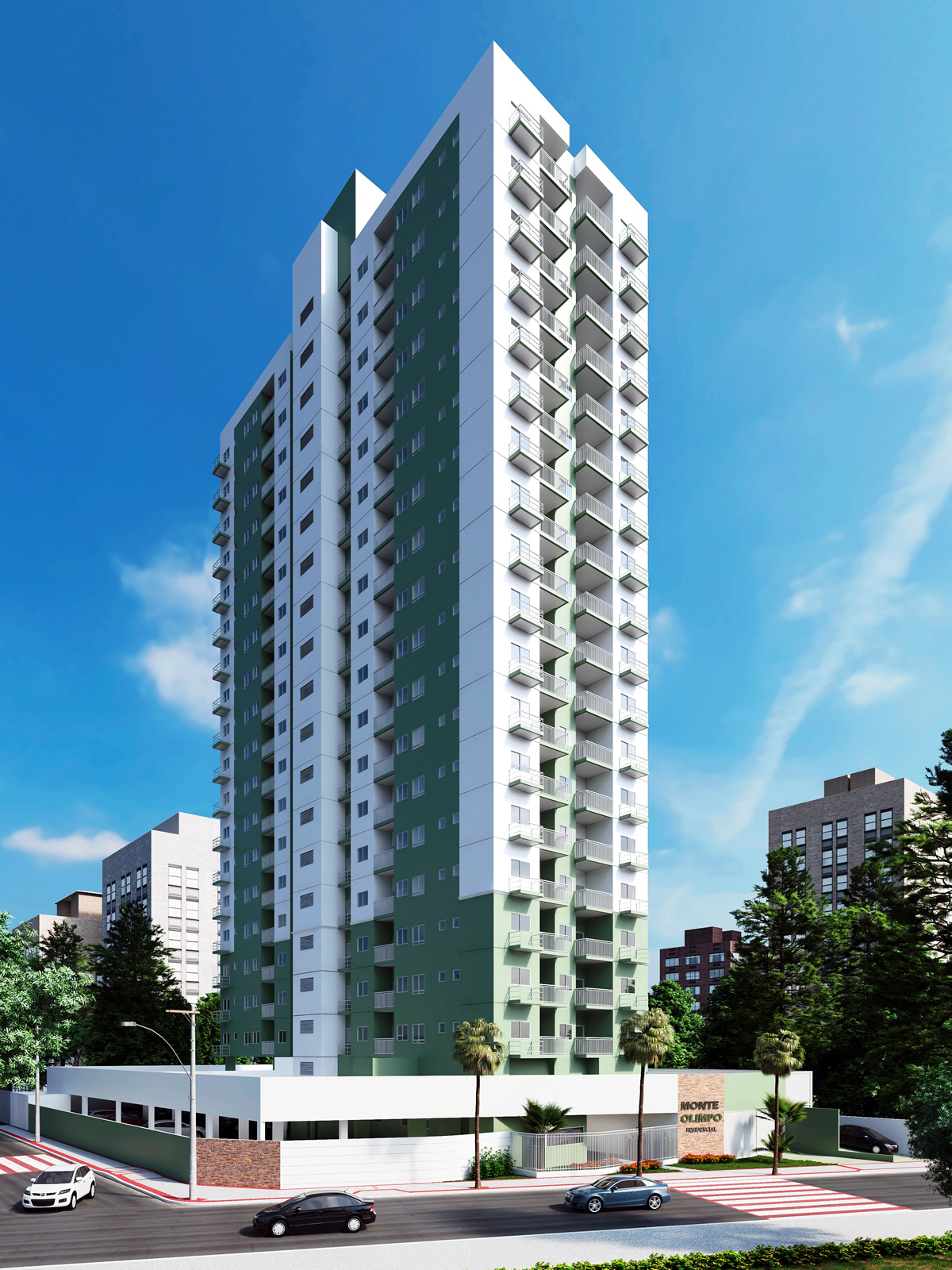 Apartamento de 55,34m²,  à venda