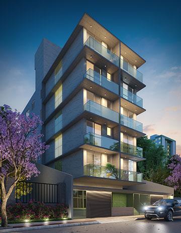 Apartamento de 37,42m²,  à venda