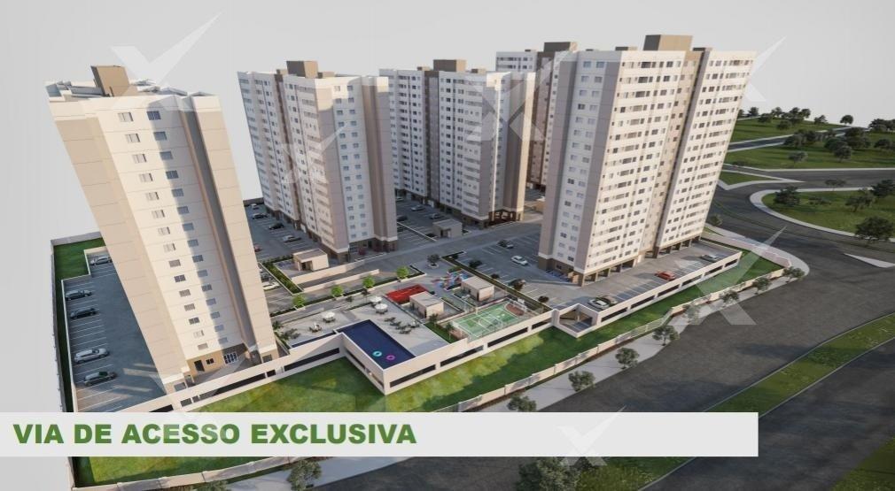 Apartamento de 53,27m²,  à venda