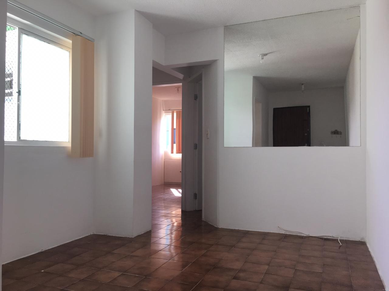 Apartamento de 47,43m²,  para alugar