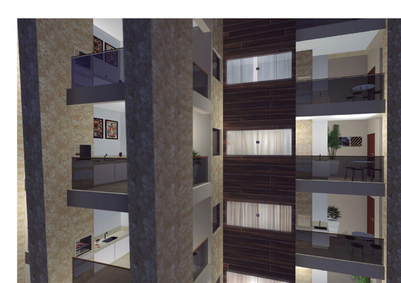 Apartamento de 122,71m²,  à venda