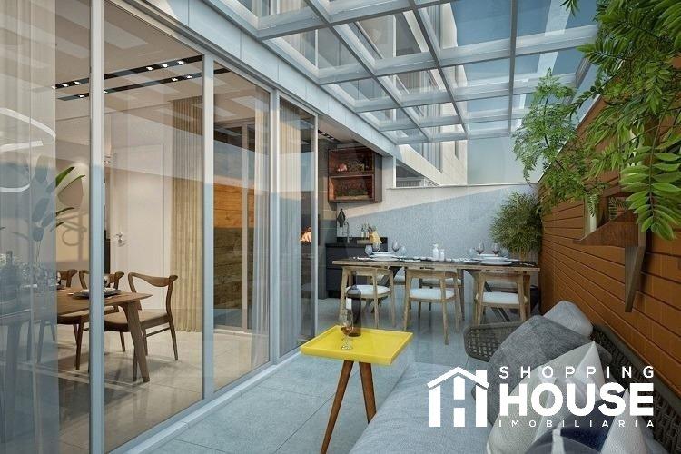 Área privativa de 117,22m²,  à venda