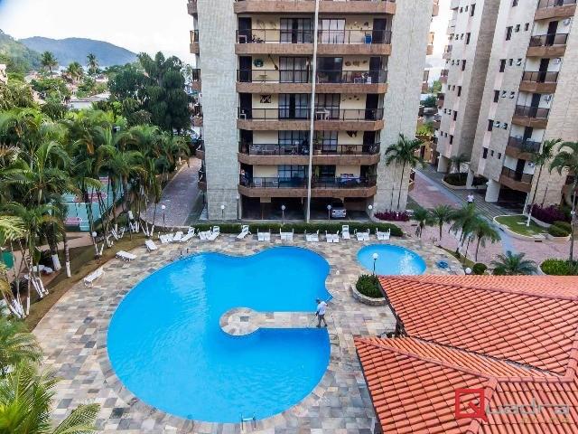 Apartamento com 2 dormitórios (1 suíte) para temporada em CARAGUATATUBA, no bairro TABATINGA