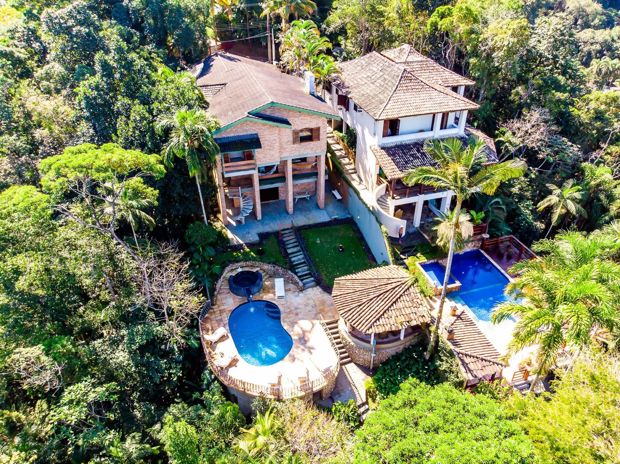 Casa em condomínio com 4 suítes à venda em UBATUBA, no bairro DOMINGAS DIAS