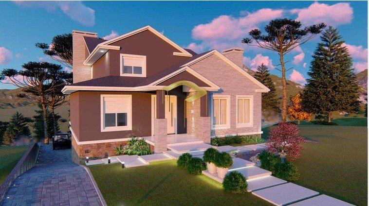 Casa à venda  no Aspen Mountain - Gramado, RS. Imóveis