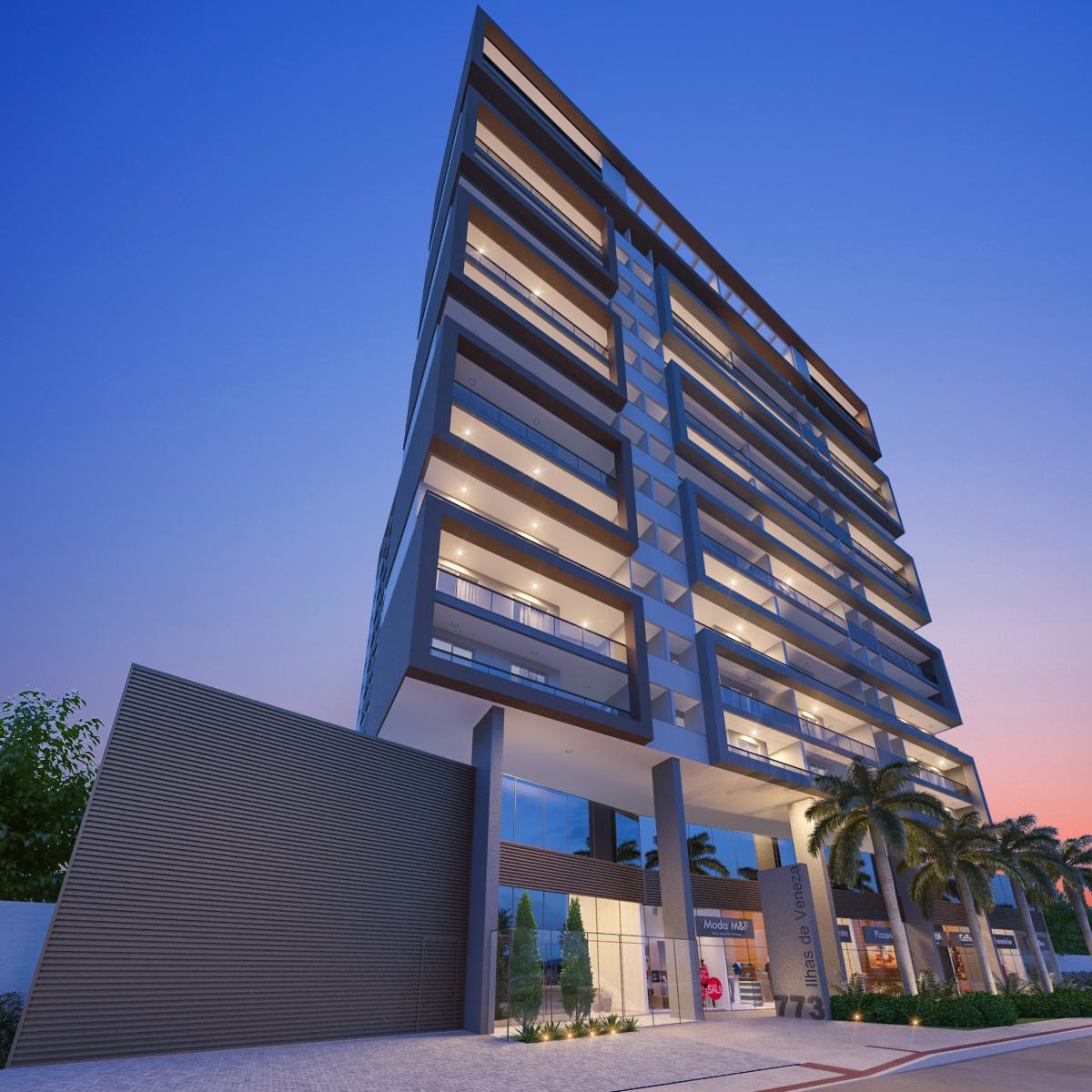 Apartamento de 53,77m²,  à venda
