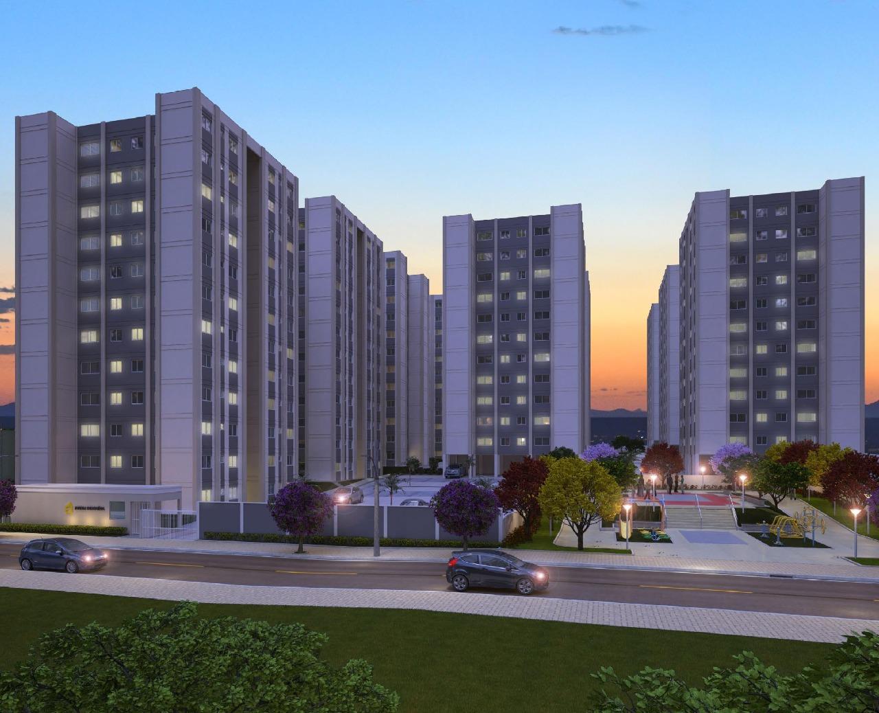 Apartamento de 48,73m²,  à venda