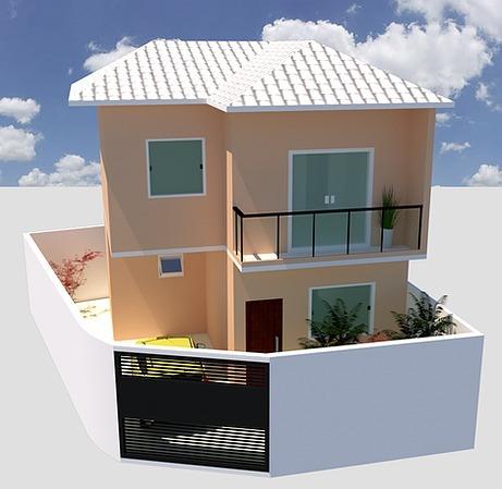 Casa de 131,26m²,  à venda