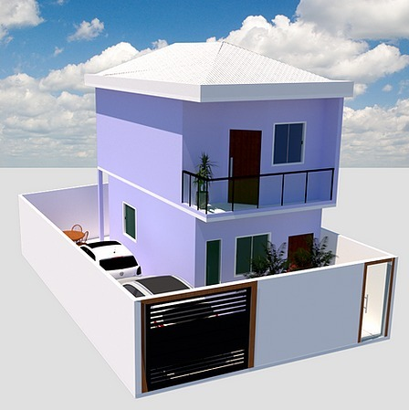Casa de 121,16m²,  à venda