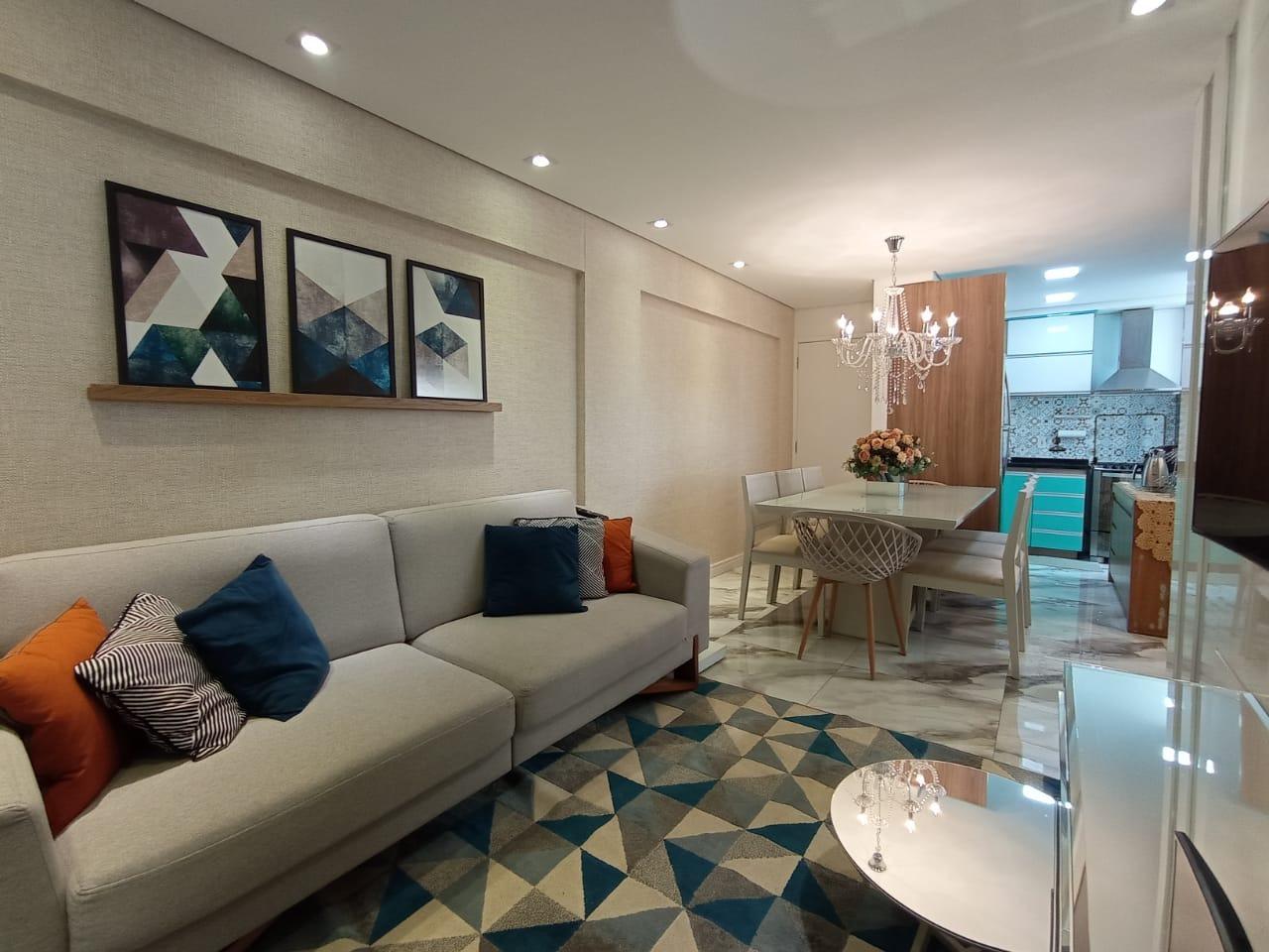 Apartamento de 67,88m²,  à venda