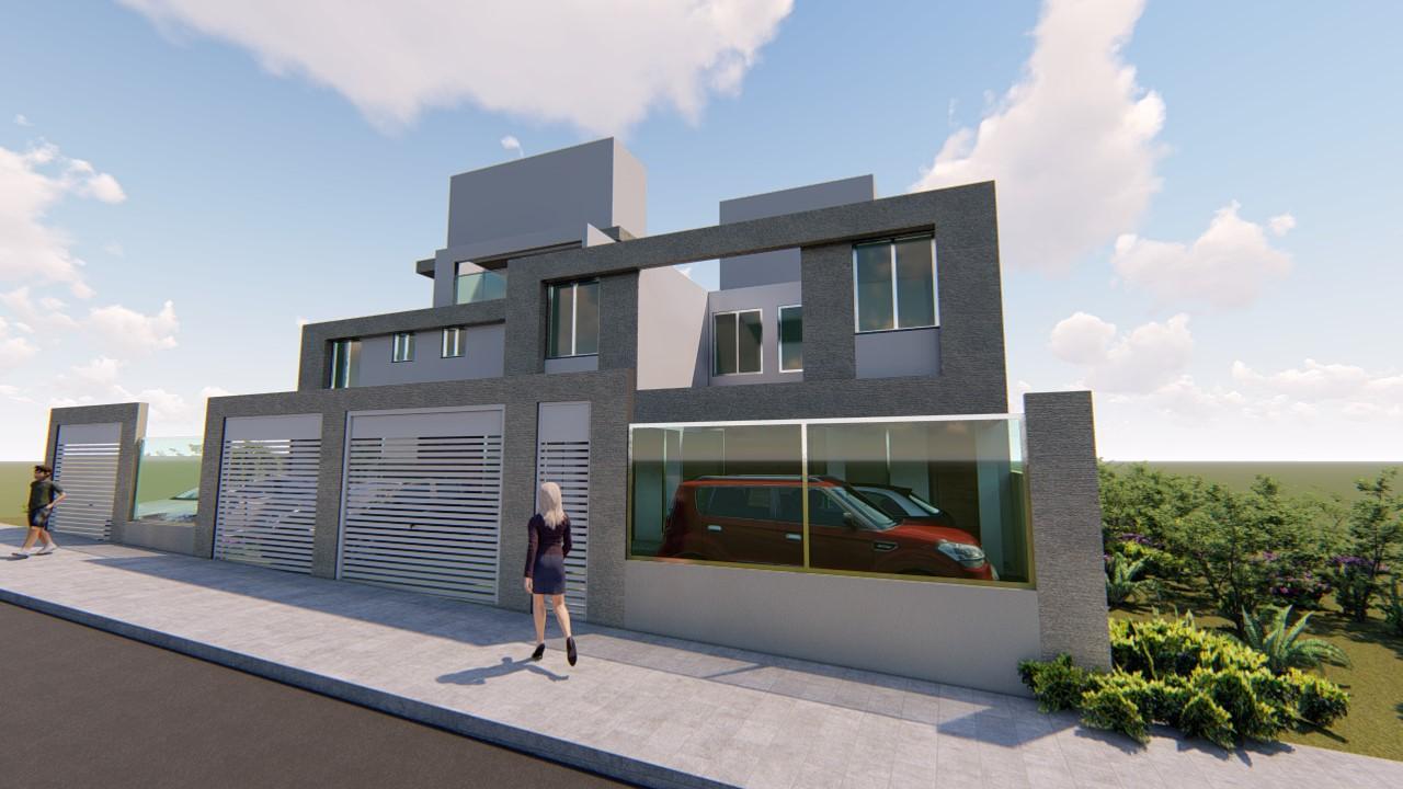 Casa geminada de 110,00m²,  à venda