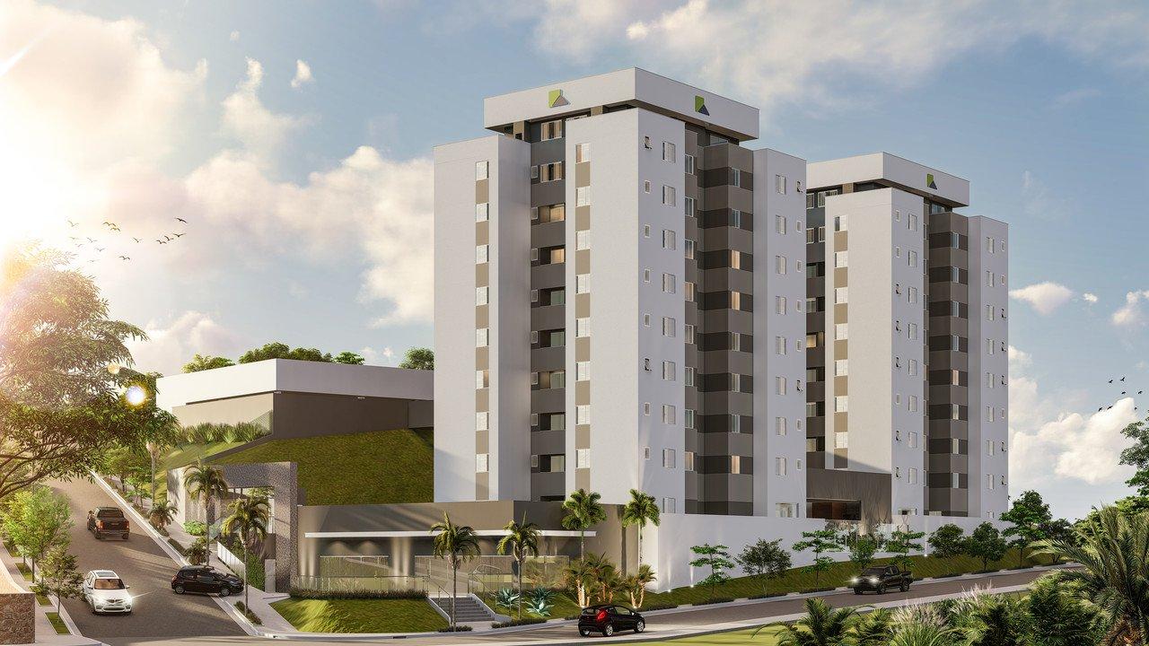 Apartamento de 54,45m²,  à venda