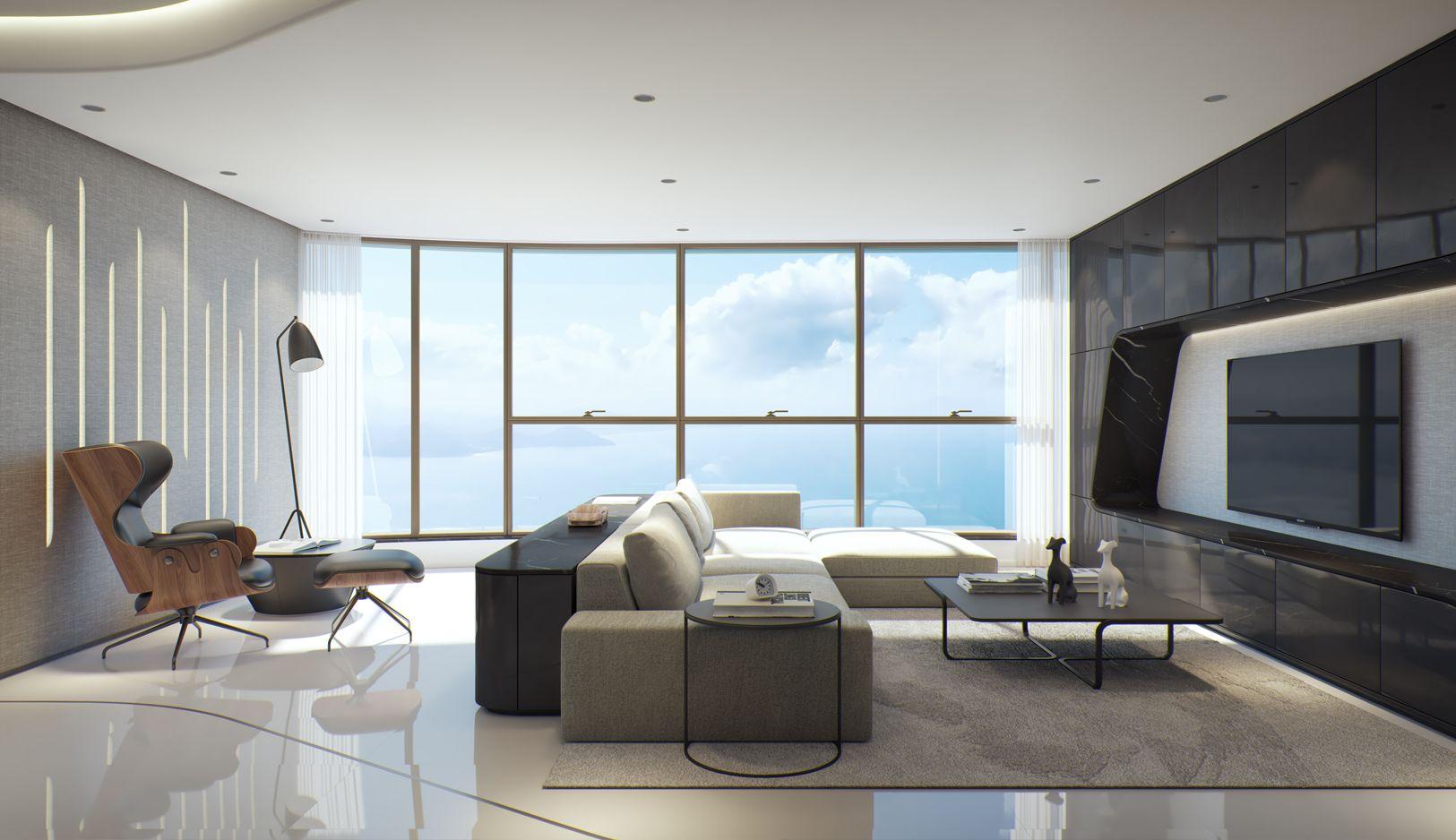 Apartamento em Andar Alto no Yachthouse em Balneário Camboriú