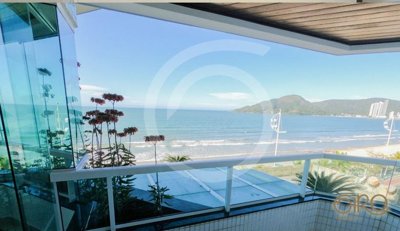 Apartamento Frente Mar no edifício Tropical Summer em Balneário Camboriú