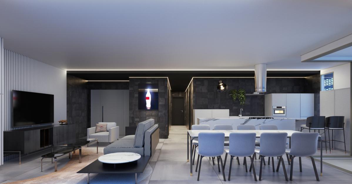 Apartamento no Tonino Lamborghini Residences em Balneário Camboriú