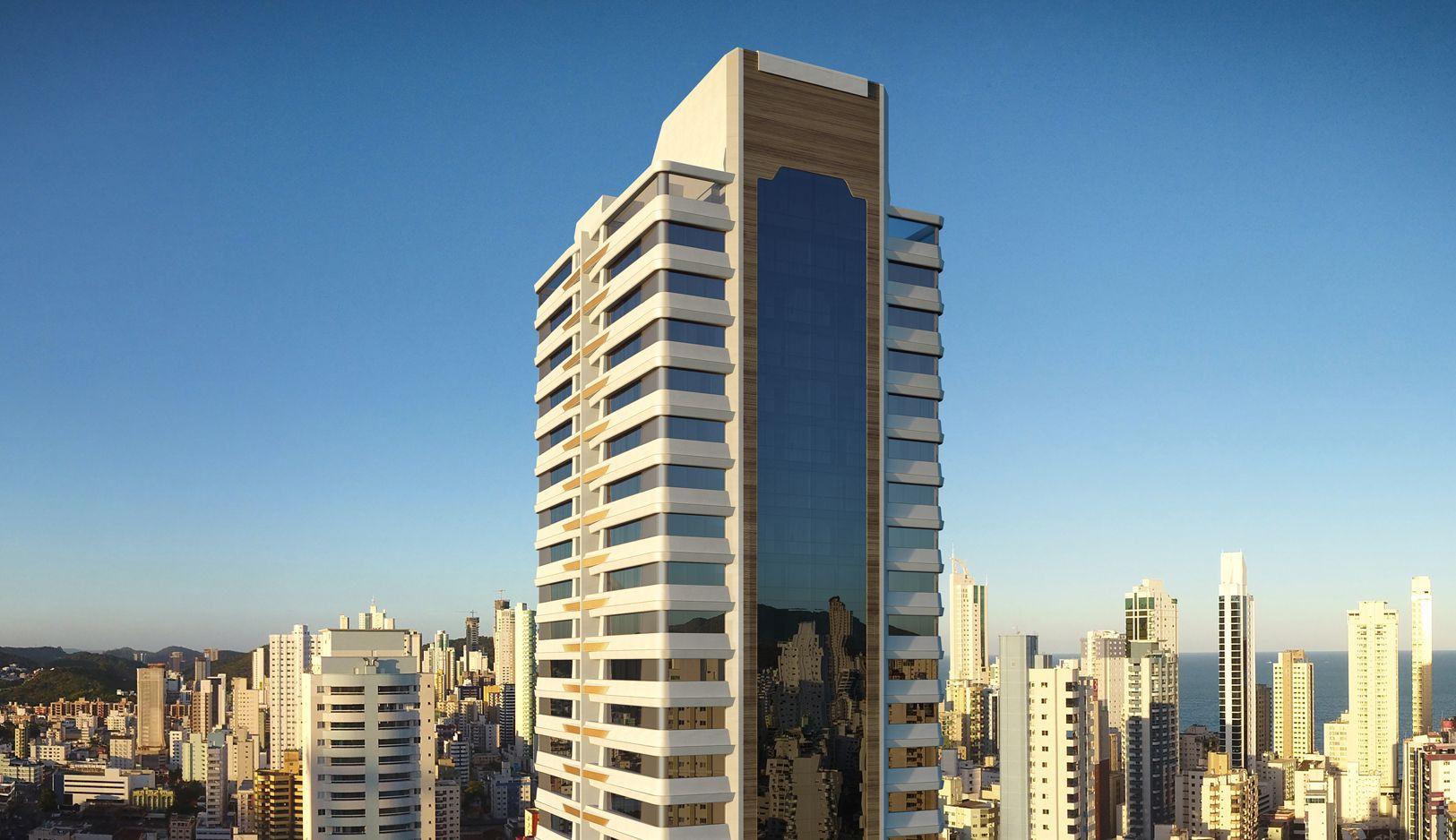 Apartamento em Andar Alto no La Città by Pininfarina em Balneário Camboriú