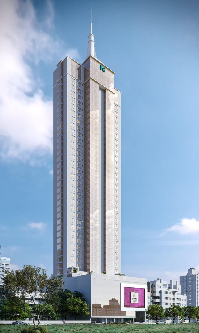 Apartamento Diferenciado no Grand Place no Centro de Balneário Camboriú