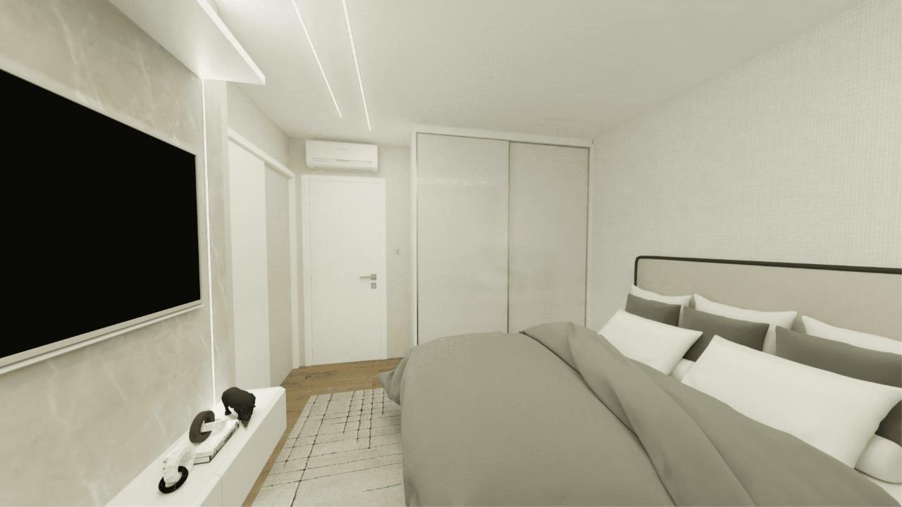 Apartamento Mobiliado no Eleganza Tower na Quadra Mar de Balneário Camboriú
