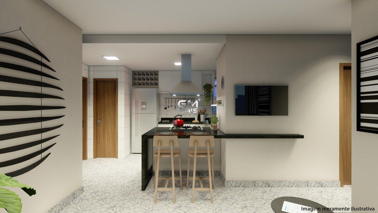 Apartamento de 54,13m²,  à venda