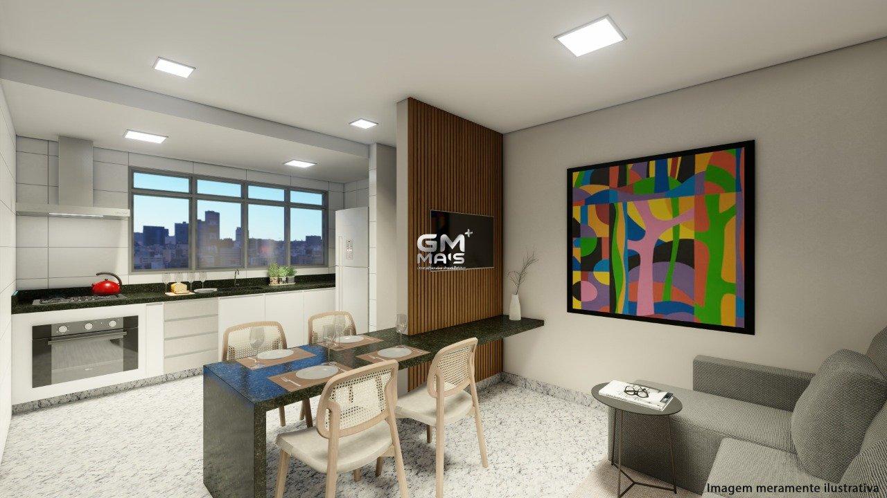 Apartamento de 49,88m²,  à venda
