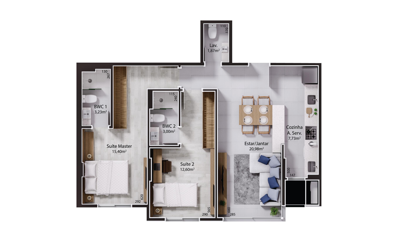 Imagem Apartamento 305 a 1205 - Torre I.jpg