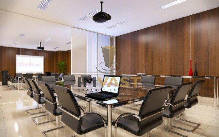 Mediterrâneo Empresarial perpectiva sala de reunião