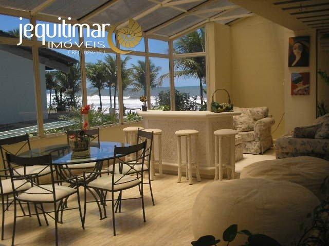 Casa Frente ao Mar Praia do Pernambuco Guarujá